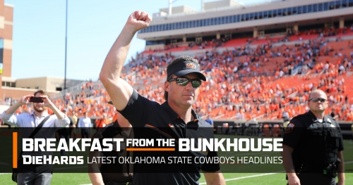 Oklahoma State football adds another commitment; men's golf leads NCAA Regional after Day 1