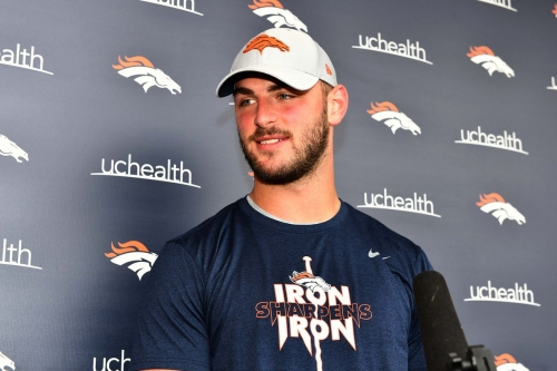 Jake Butt eager to prove he can be Broncos' No. 1 tight end