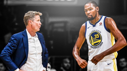 Steve Kerr says Kevin Durant 'is the guy that can put you over the hump'