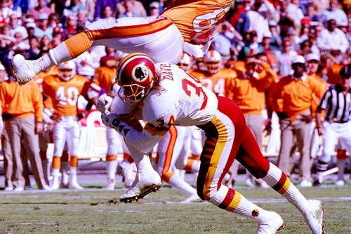 Redskins by the (Jersey) Numbers: #34 - Brian Davis