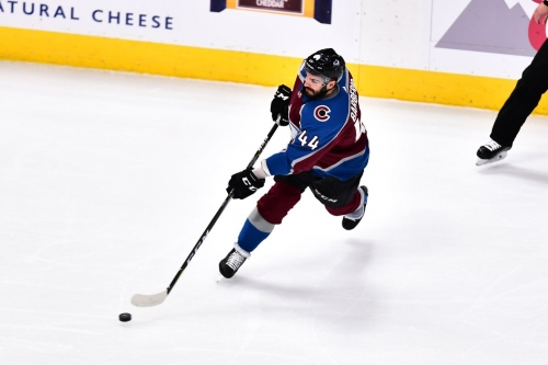 Mark Barberio is ready to return to the Colorado Avalanche