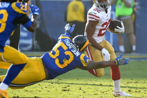 Rams waive OLB Carlos Thompson