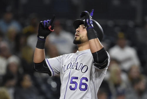 The Morning After: Rockies rookie outfielder Noel Cuevas breaks down first big league home run
