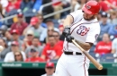 Washington Nationals' lineup for first of two with New York Yankees...