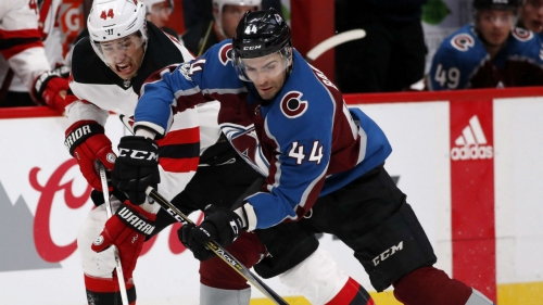 Avalanche re-sign Mark Barberio to 2-year deal