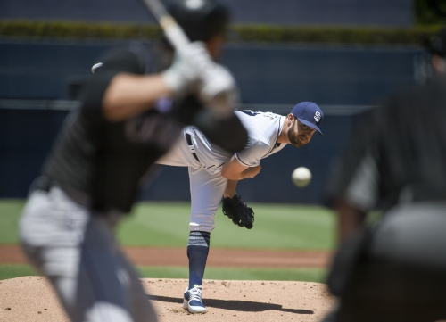 Jordan Lyles flirts with perfect game as San Diego Padres beat Colorado Rockies