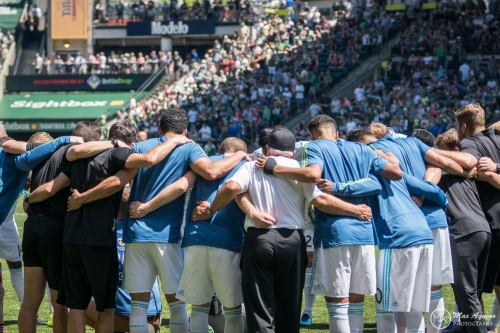 Seattle Sounders vs. Portland Timbers: Community player ratings form