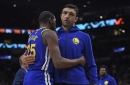 Zaza Pachulia hasn't pouted — instead he's focused on being a coach of sorts for the Warriors