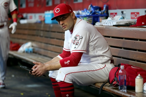 Joey Votto: 'I'm proud to wear a Reds uniform, and I look forward to doing that until the last day of my career'