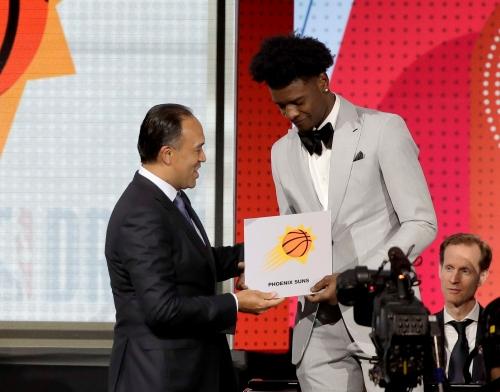 Suns hit jackpot, land No. 1 pick in 2018 NBA draft