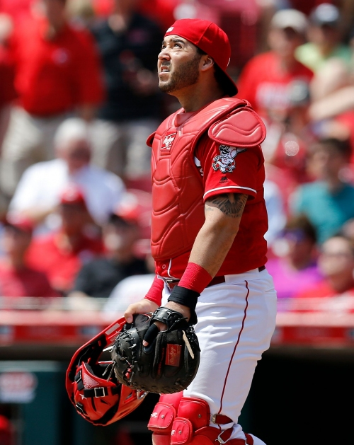 With Mesoraco gone, Barnhart will get more playing time with Cincinnati Reds, but Riggleman is confident in Cruz