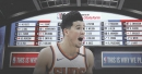 Suns guard Devin Booker reacts to Phoenix getting No. 1 overall pick in 2018 Draft