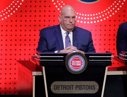 Bower still working on Pistons' draft despite job limbo