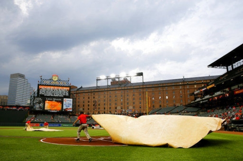 Orioles-Phillies washed out by rain