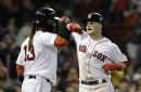 Andrew Benintendi homers, strokes 3 hits but Boston Red Sox lose to Athletics who continue two-out production