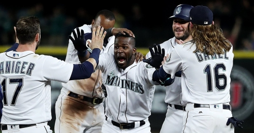 Mariners can at least smile at end of long day as Guillermo Heredia wins it 9-8 in the 11th