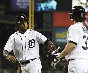 Tigers rally vs Andrew Miller for 9-8 win over Indians