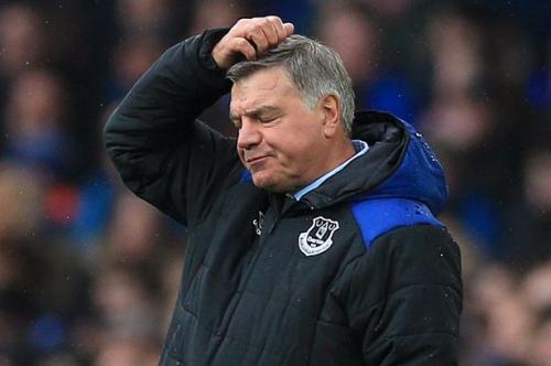 Everton sack manager Sam Allardyce... next stop Stoke City?