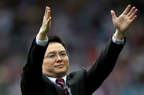 Tony Xia's impassioned message as Aston Villa reach Wembley