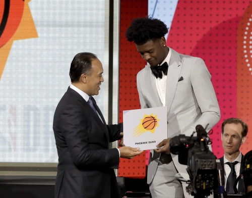 The Phoenix Suns got what they earned: The top pick in the NBA draft