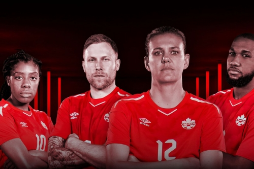 Canada Soccer releases new red jersey