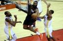 NBA playoffs: How Kevon Looney embraced challenge of defending James Harden