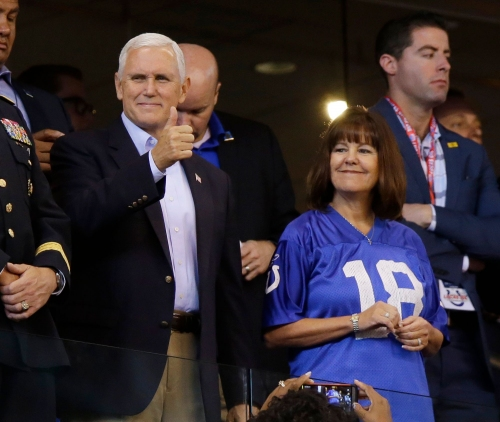 Who paid for Colts tickets to game Pence abruptly left? Disclosure report spills the beans