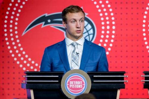 Detroit Pistons' rookie Luke Kennard 'learned a lot' from Van Gundy