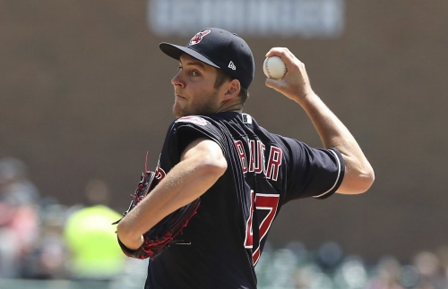 Cleveland Indians' Trevor Bauer, offense limit bullpen's access in 6-0 win over Tigers