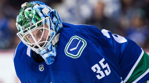 Canucks goalie prospect Thatcher Demko believes he's ready for the NHL