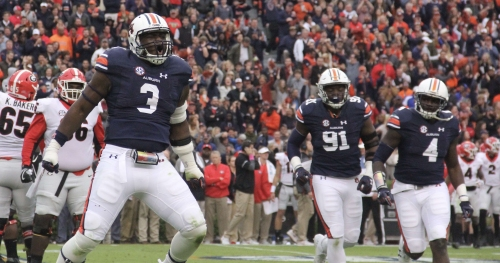 Who emerges on Auburn football's defensive front in 2018?