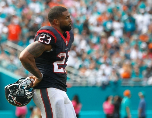 Arian Foster says of NFL owner's 'inmates' comment: 'That's how they view the players'