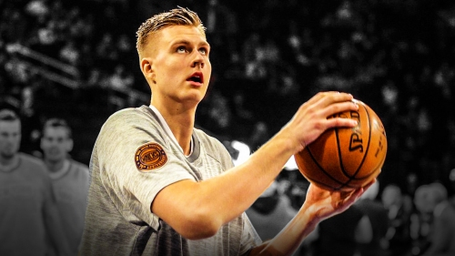 Knicks' Kristaps Porzingis progressing as expected in Spain