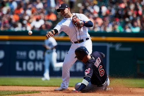 Detroit Tigers shut out from first place with 6-0 loss to Indians