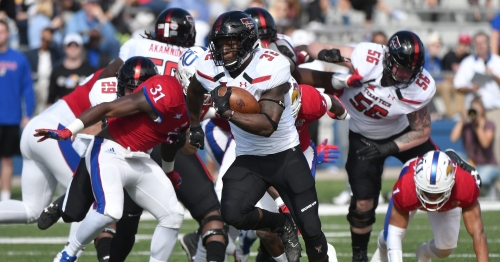 Running back Desmond Nisby will seek transfer from Texas Tech