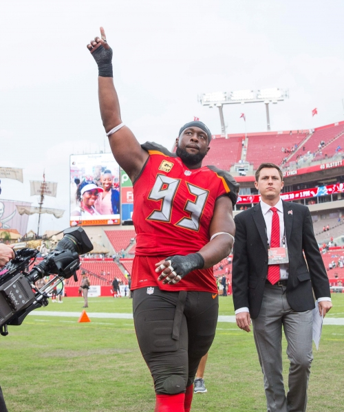 Gerald McCoy has some 'Super Friends' to help him on the D-line