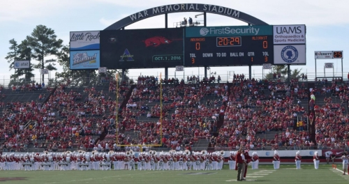 Report: Arkansas to play Missouri in Little Rock in alternating years