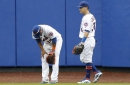 Juan Lagares gives Mets outfield another injury scare