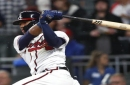 Acuna gets big hit as Braves score 3 in 8th, beat Cubs 4-1
