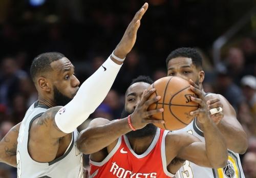 LeBron James named finalist for NBA MVP, seeking fifth award