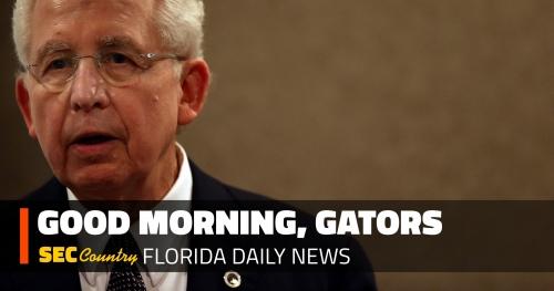 Florida AD Scott Stricklin mourns loss of longtime SEC commissioner Mike Slive