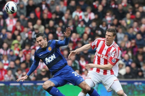 Robin van Persie pays Stoke City ultimate compliment