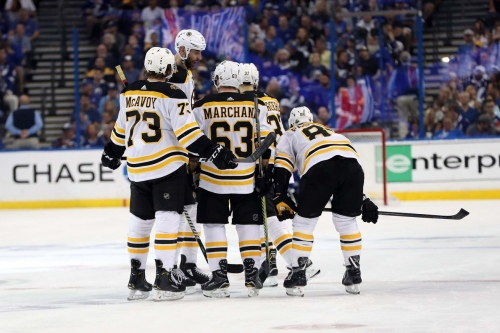 Geared up: What kind of equipment do the Boston Bruins use?