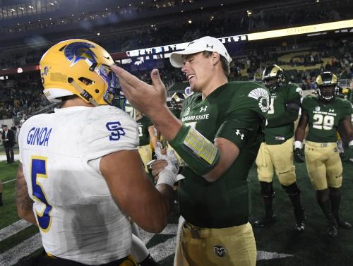 Broncos sign former Colorado State quarterback Nick Stevens