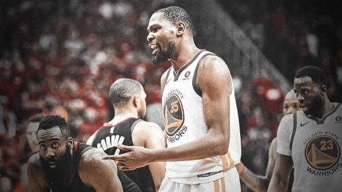 Kevin Durant urges Golden State must 'man up' vs. Rockets