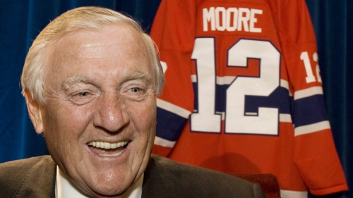 Montreal to name new park after late Canadiens star Dickie Moore