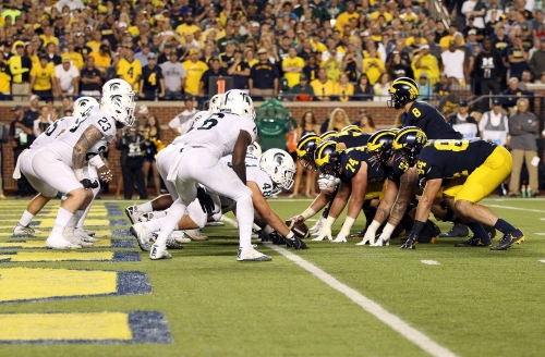 College football projected win totals: Michigan 8.5, Michigan State 7.5