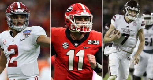 7 SEC players have odds of 33-to-1 or better to win 2018 Heisman Trophy