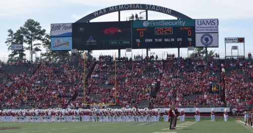 Arkansas officially announces games in Little Rock will continue through 2024