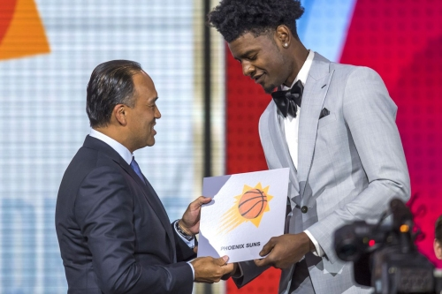 The Suns' options on draft night with the first overall pick in hand